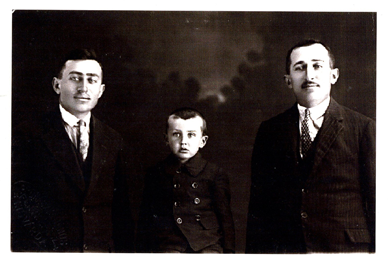Ernie Perlstein, Joseph Fried, Eugene Fried