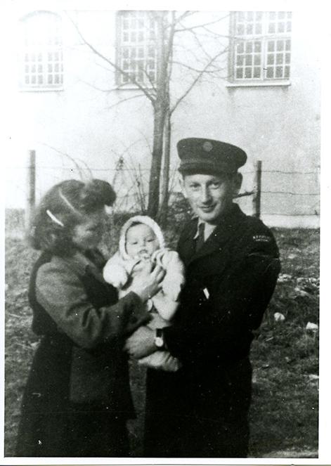 Sonia, Joseph, and Bud Brodecki