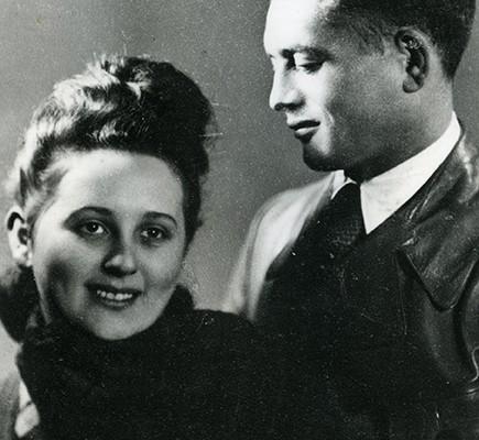 Halina Dexler & Alan Zimm, 1946