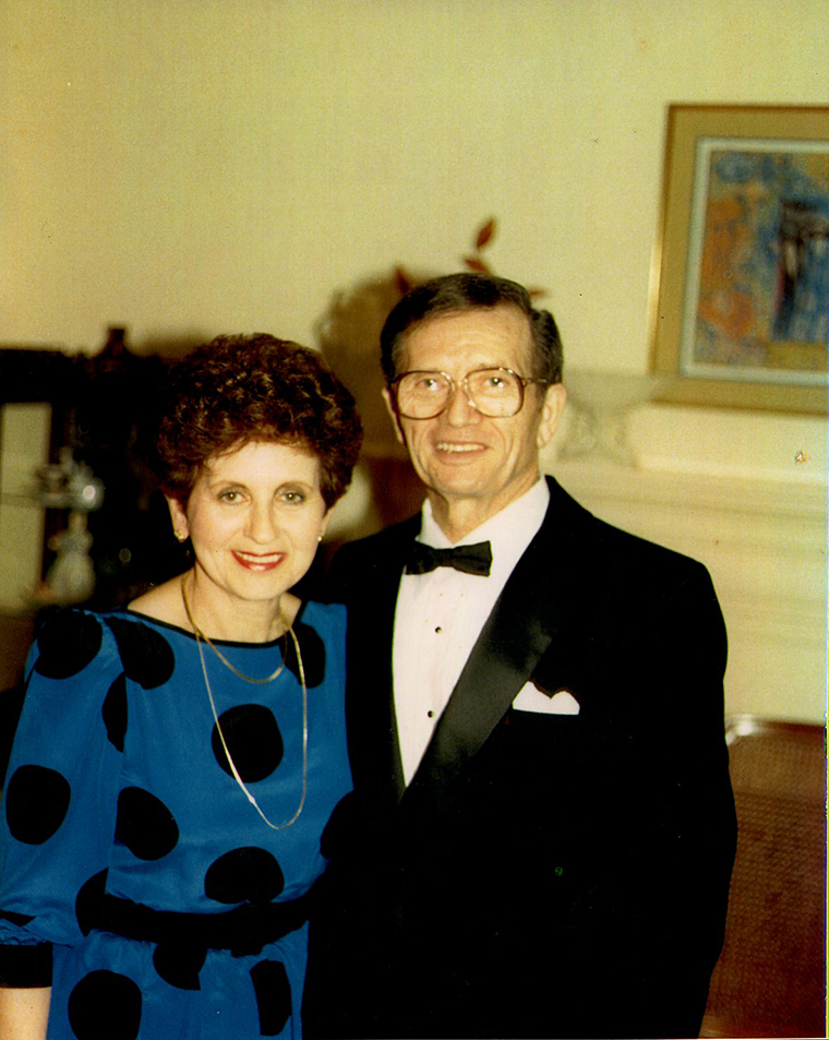 Halina and Alan Zimm