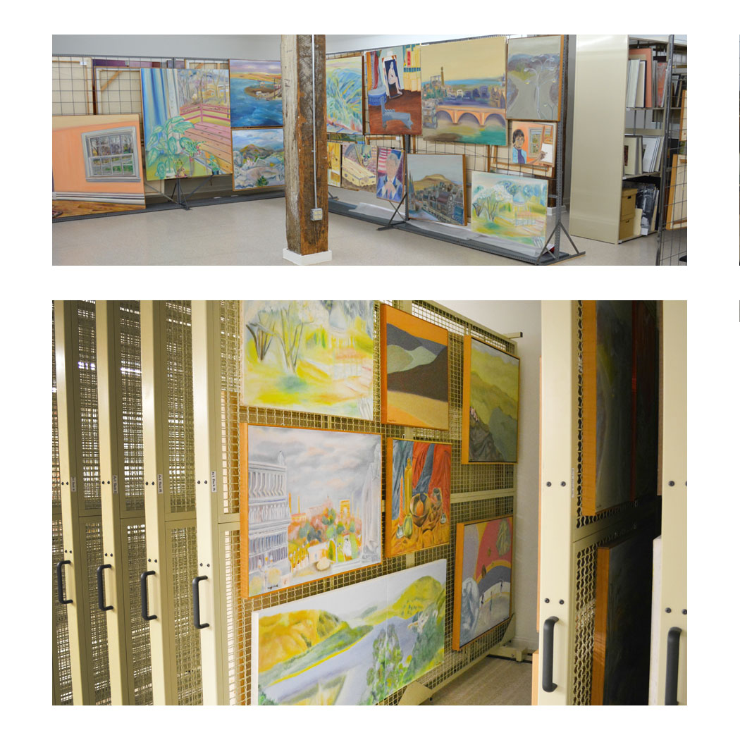 Capital Rennovation Update: Art Cage before and after