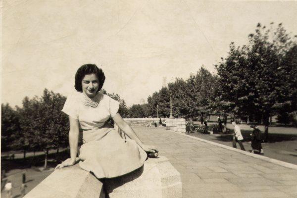 Margot at Riverside Drive, 1950