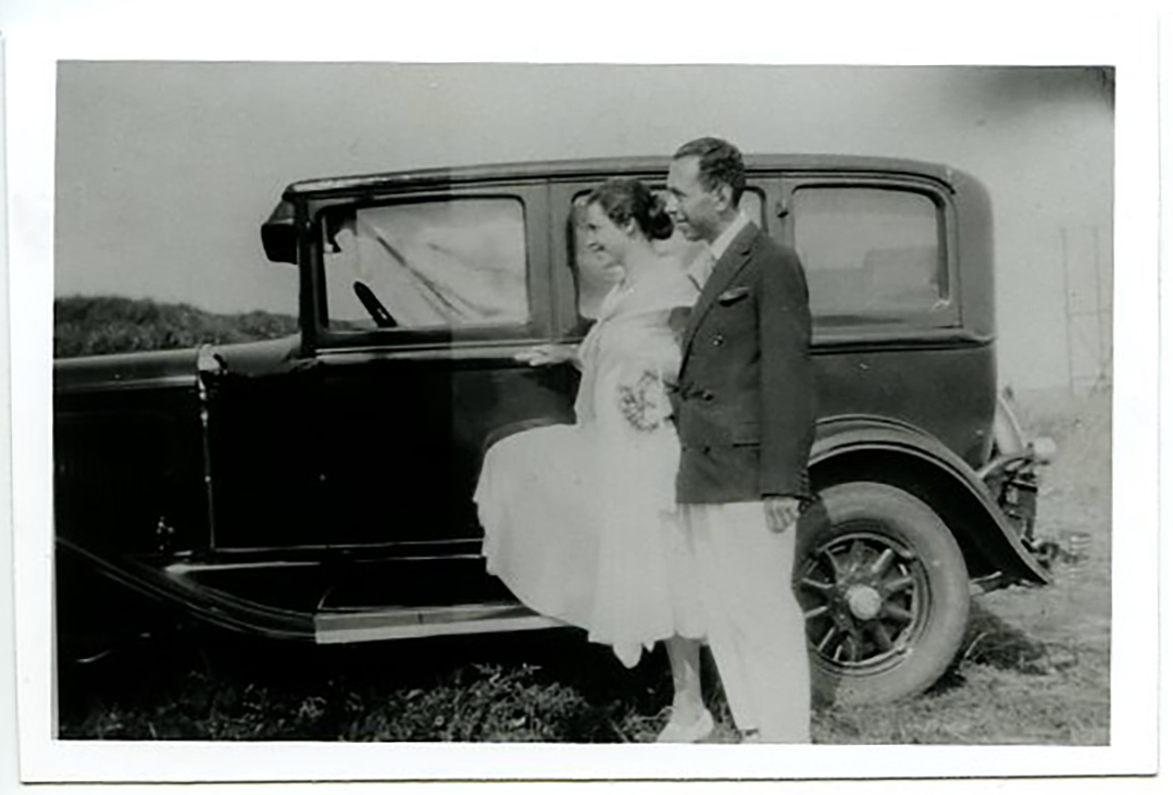Anna and Paul Gottlieb (Roger's aunt and uncle)