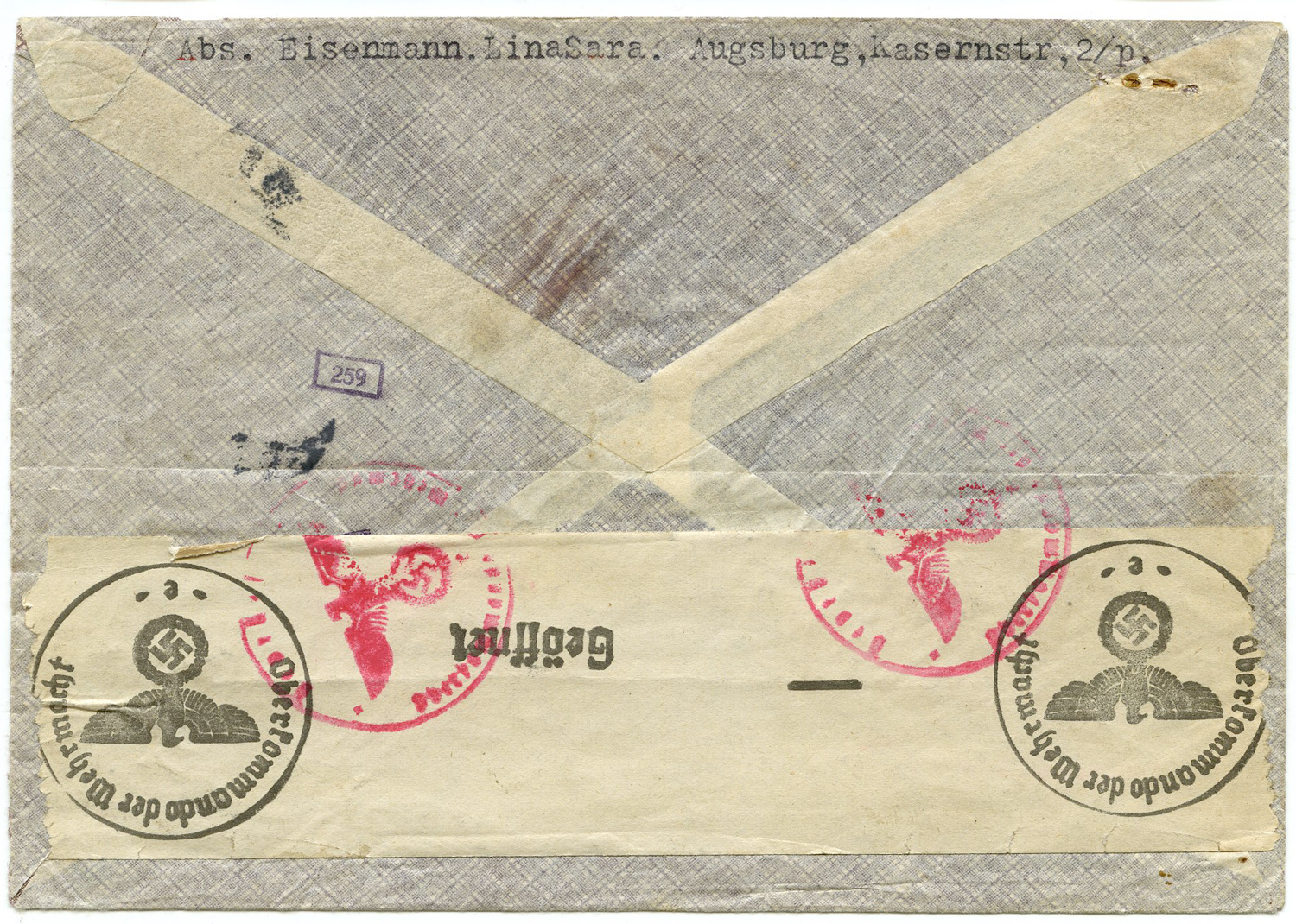 Eisenmann Envelope Back