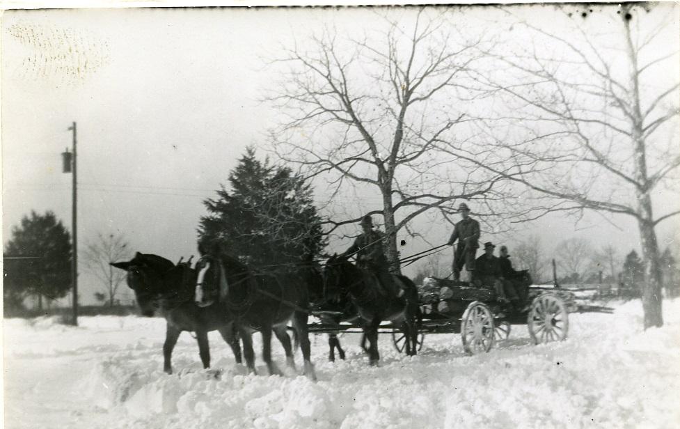 February 1940 Snow