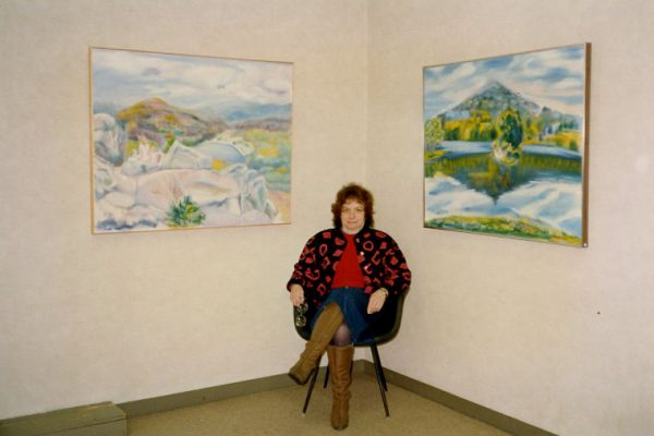 Margot Blank and her artwork