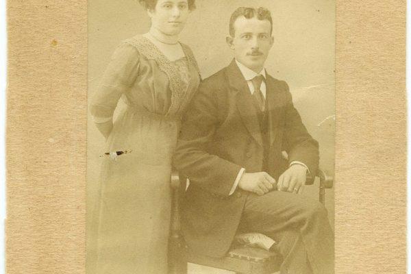 Margot Blank's Parents, Ida and Jabob Dreyfuss