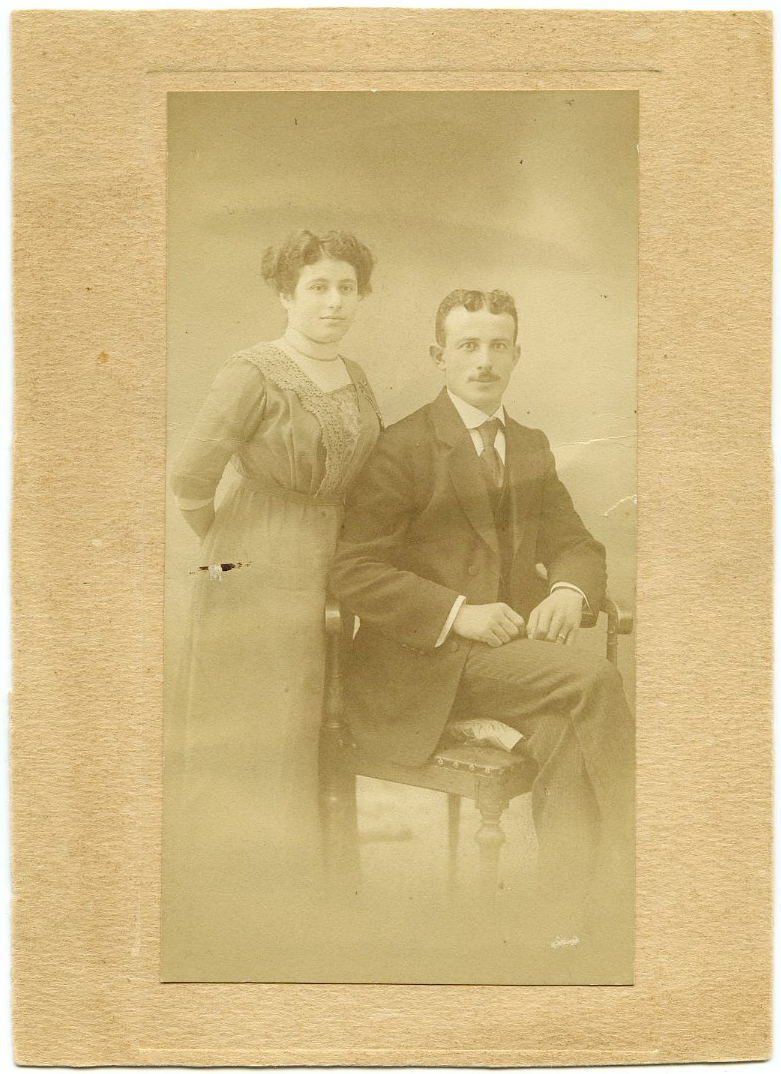 Margot Blank's Parents, Ida and Jabob Dreyfuss