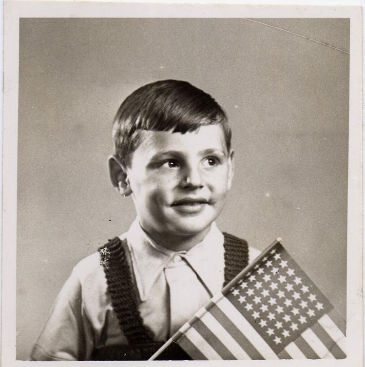 Roger Loria, Age 4