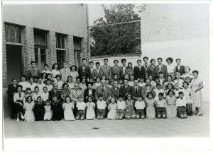 Roger Loria at orphanage