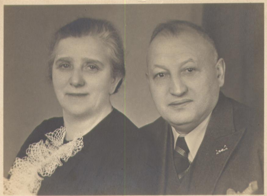 Rosalie and Hermann Baermann