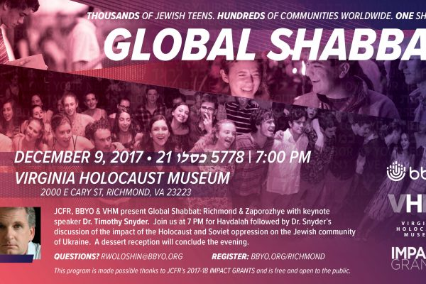 Global Shabbat 2017