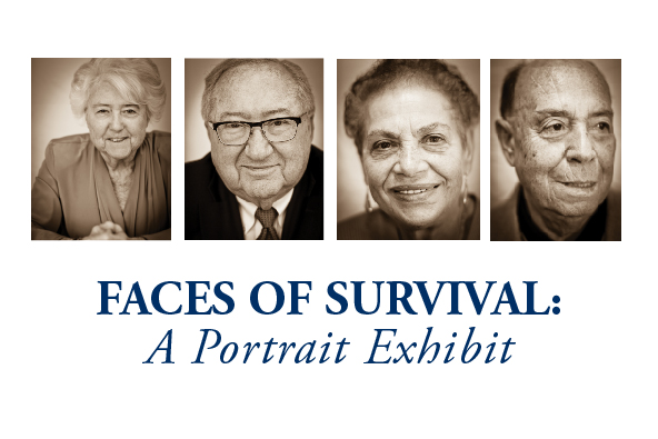 Faces of Survival: A Portrait Exhibit